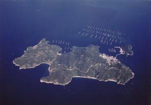 阿多田島 航空写真